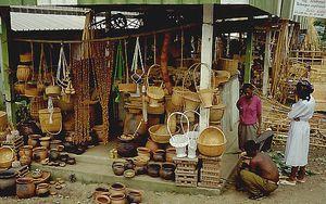 Les produits issus de la vannerie