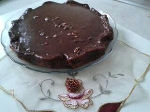 Gâteau au Chocolat Sans Beurre, Amande et Pommes Rapés