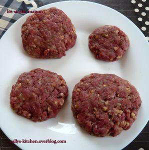 Steak maison (idéal pour hamburger)