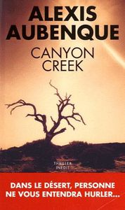 CANYON CREEK d'Alexis Aubenque