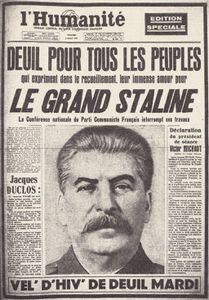 21 aout : assassinat de Trotsky