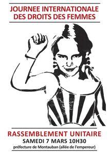 JOURNEE INTERNATIONALE  DES DROITS DES FEMMES