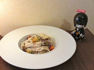 Nouilles chinoises au thon