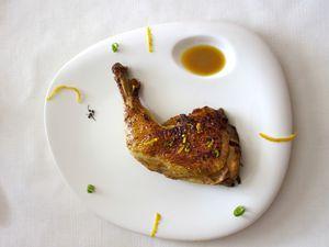 Cuisse de poulet au citron
