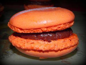 macarons ganache carambars et ganache nutella