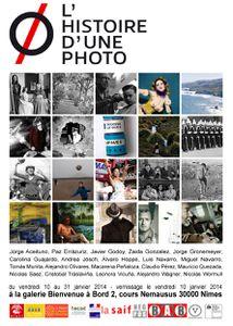 &quot&#x3B;L'Histoire d'une photo&quot&#x3B; du 10 au 31 janvier 2014