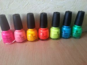 Collection Summer Neon China Glaze