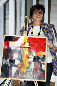 Une artiste à Remaucourt ...