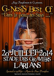 Spectacle Best Of le 20/07/2014 à Larians !!!!!