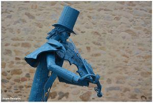 Le Croisic, sculptures