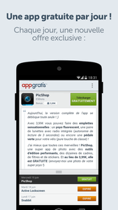 Applications Android/Iphone/Windows Phone !