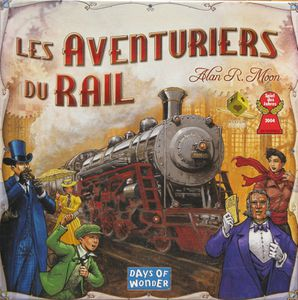 Les aventuriers du rail de Alan R. Moon (2004 - Days of wonder)