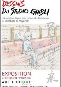 Dessins du studio Ghibli - Du 04/10/14 au 01/03/15 (Musée des arts ludiques - Paris 13e)