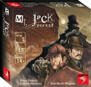 Mr Jack Pocket de Bruno Cathala et Ludovic Maublanc (2010 - Editions Hurrican)