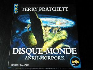 Disque monde - Ankh Morpork de Martin Wallace (2011 - Editions Iello)