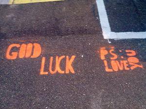 Quand un message &quot&#x3B;Street Art&quot&#x3B; me trouble...