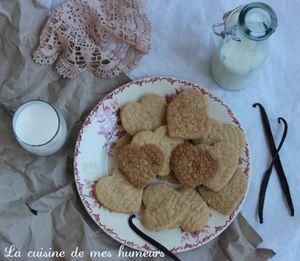 Biscuits dentelle: Sablés à la vanille