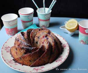 Bundt cake: Un gâteau citron fruits rouges