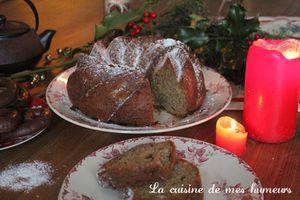 En attendant Noël: bundt cake, un gâteau très doux aux pommes, à la cannelle et à l'anis vert