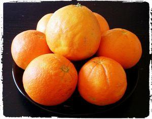 Confiture oranges vanille amandes