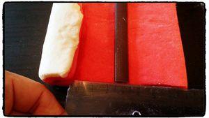 Croissants et Pains au chocolat Bi-colores