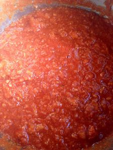 Sauce tomate au thon, recette express au thermomix