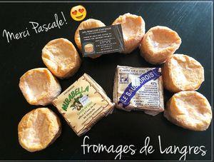 Gratin au fromage de Langres