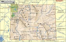 Wyoming  et la vigne