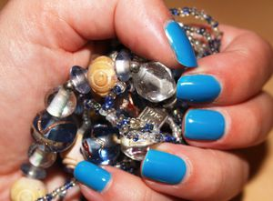 Vernis semi-permanent Cosmic Blue