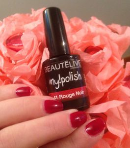 Rouge noir - Vernis semi-permanent My Polish