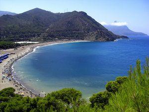 Algerie plage bord de mer