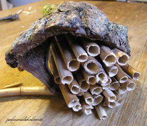 Construire un abri à insectes