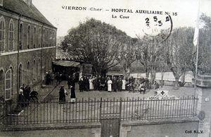 CHER - Hôpitaux militaires (1914-1918)