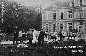SEINE-SAINT-DENIS - Hôpitaux militaires (1914-1918)