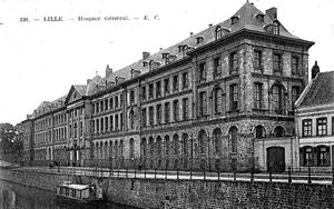 LILLE 1914 - HOPITAUX DANS LE NORD OCCUPE (2/2)