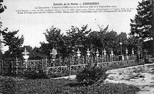 HECATOMBE SANITAIRE A CONNANTRAY (7, 8, 9 et 10 septembre 1914).