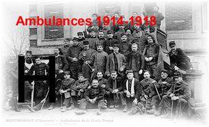 AMBULANCES... 1914-1918 - Lettre H