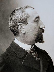 Anatole France photographié par Nadar en 1893