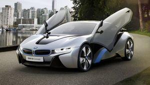 BMW I8, les caractéristiques!