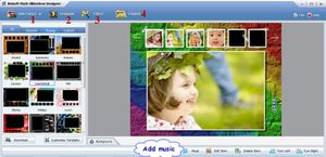 To create slideshows for your websites with Website slideshow maker