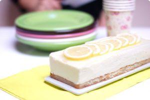 Tarta GinTonic al limón