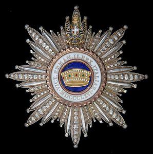 Conférence : &quot&#x3B;L'Ordre de la Couronne d'Italie.&quot&#x3B;