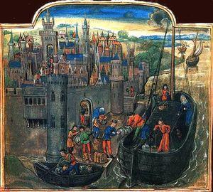Aller à Saint-Jacques de Compostelle en navire