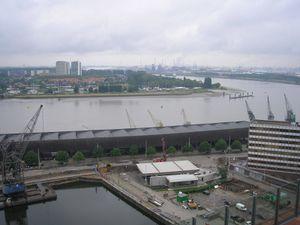Photo prise depuis la terrasse du MAS
