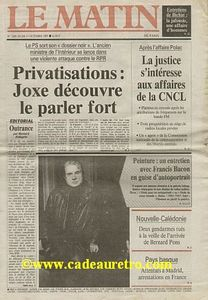 Dimanche 28 avril 1985
