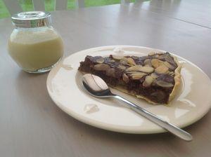 Tarte Chocolat Banane Coco