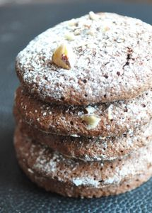 Biscuits crousti-moelleux choco noisette