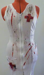 Halloween : infirmière sanglante