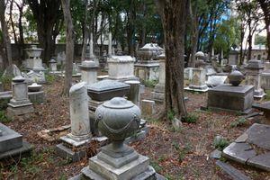 la tomba di tobias Smollett