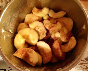 Crumble de pommes WW au Thermomix